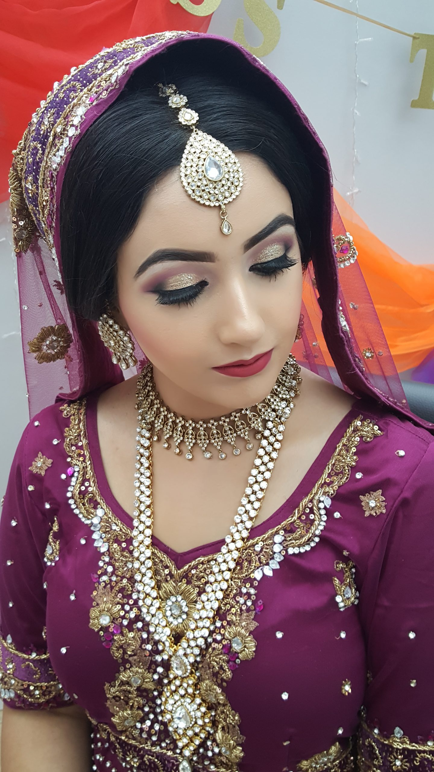 Glow Makeup Asian Bridal Formal Occassions